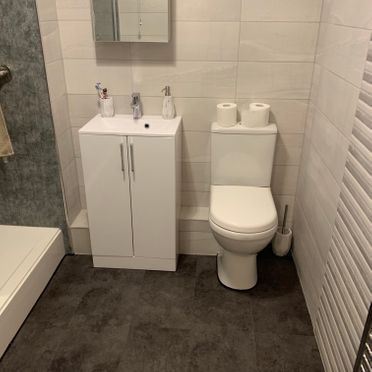 Dura Open Back Close Coupled Toilet, 500mm HGW Vanity Unit